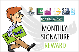 Image for August Month Signature Bonus Shared.
