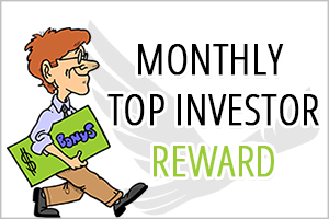 Image for December Top Investor Bonus Shared.
